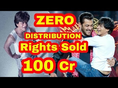 Shah Rukh Khan's Zero All India distribution rights sold/india