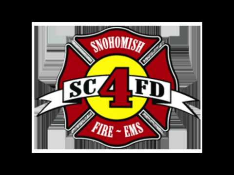RAW SCANNER AUDIO: Snohomish Fire/Rescue 3rd Alarm Commercial Fire 06_17_2013 -SCFD4-