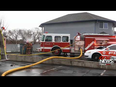 Electrical problem to blame for commercial building fire in Moses Lake