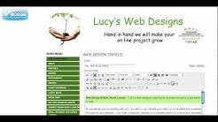 Web Design Enfield | Website Design North London | Lucy's Web Designs - 07795 170193