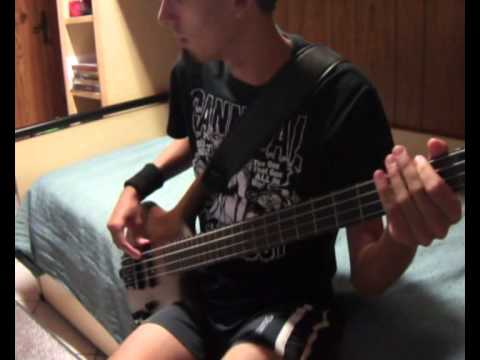 Alice Cooper - Department Of Youth  Bass Cover By Marga