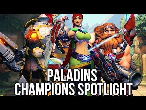 Paladins: Champions of the Realm (Free Online Shooter): Cham