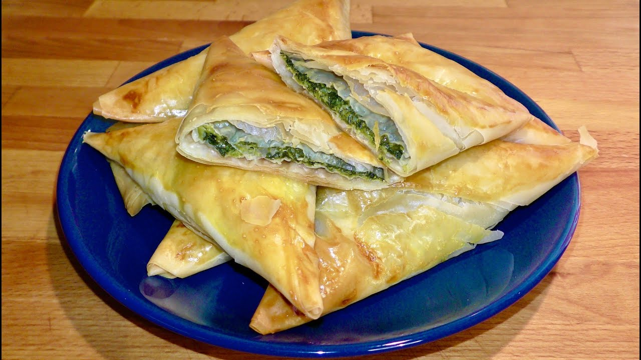 Placinte cu spanac si branza(APERITIV DELICIOS)/ Spinach and Cheese Pie Recipe (DELICIOUS APPETIZER)