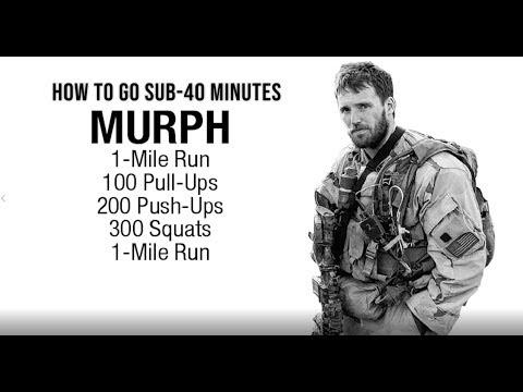 How To Go Sub-40 on Murph