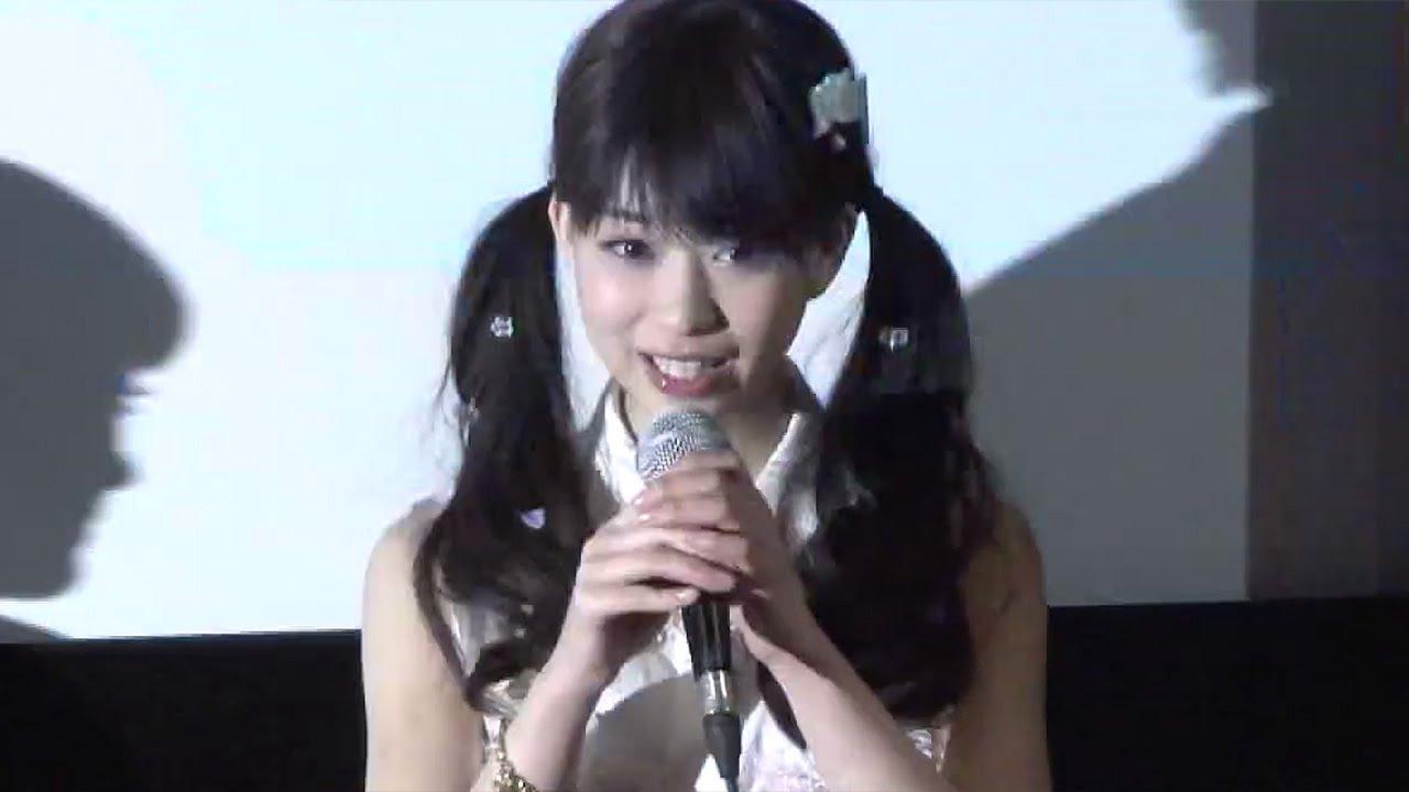 森川葵が\u201cツインテール\u201d姿披露!映画「おんなのこきらい」初日舞台あいさつ1 Girl Hate movie , YouTube