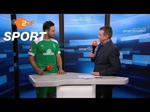 Pizarro: 'Kopf sagt ja.' | das aktuelle sportstudio - ZDF