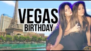 GURUS TAKE VEGAS ➜ Birthday Vlog || Sarah Belle