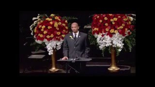 Monty Williams Speech at His Wife's Funeral(So Courageous)