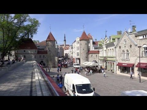Tallinn, Estonia - Old Town Tallinn Complete Tour (2018)