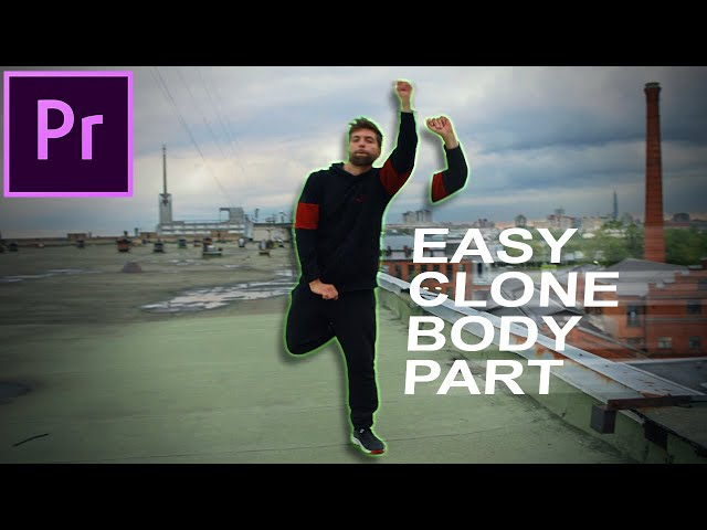 How to create a Clone Body Part Fly in Effect in Adobe Premiere Pro CC (Tutorial)