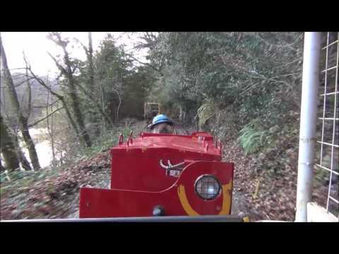 Copper Mine Tramway - Narrow Gauge Mine Train - Morwellham Quay