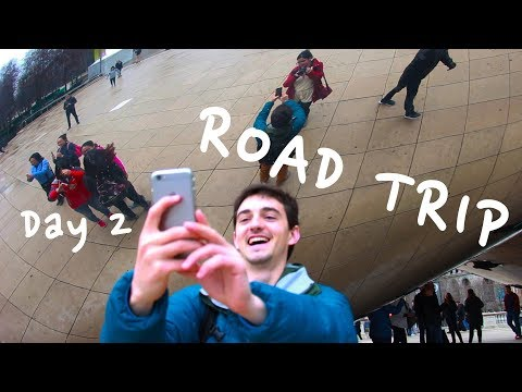 SUPER FUN YET ALSO NECESSARY ROAD TRIP | Day 2 - Chicago (sponsor me)