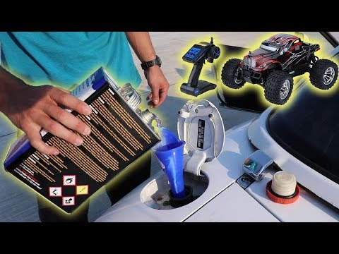 We Put NITRO R/C CAR Fuel In Our ACTUAL Car!