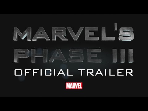 Trailer of Marvel\'s Phase 3 (2016 - 2019) - Upcoming Movies