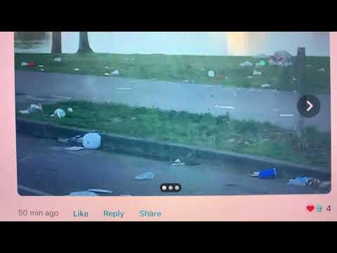 Oakland Lake Merritt Adams Point Trash Problem Focus Of Nextdoor Photos Posted An Hour Ago