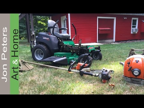 My Go-To Gas Powered Tools For Lawn & Yard Maintenance
