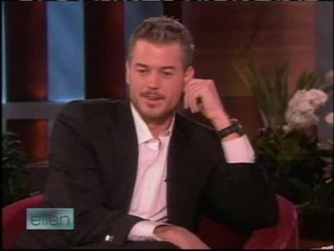 McSteamy Eric Dane on Ellen