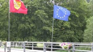 Camping International te Ouren op het drielandenpunt, België, Luxemburg en Duitsland