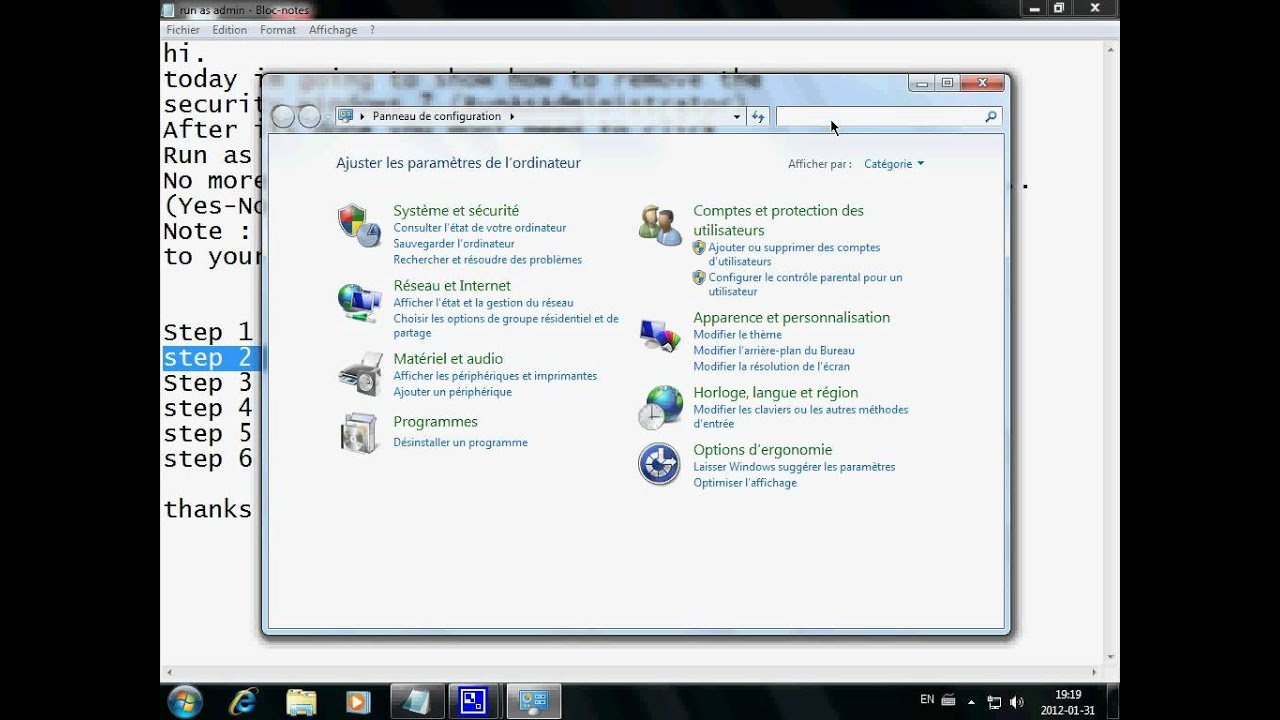 how to run win 7 as administrator