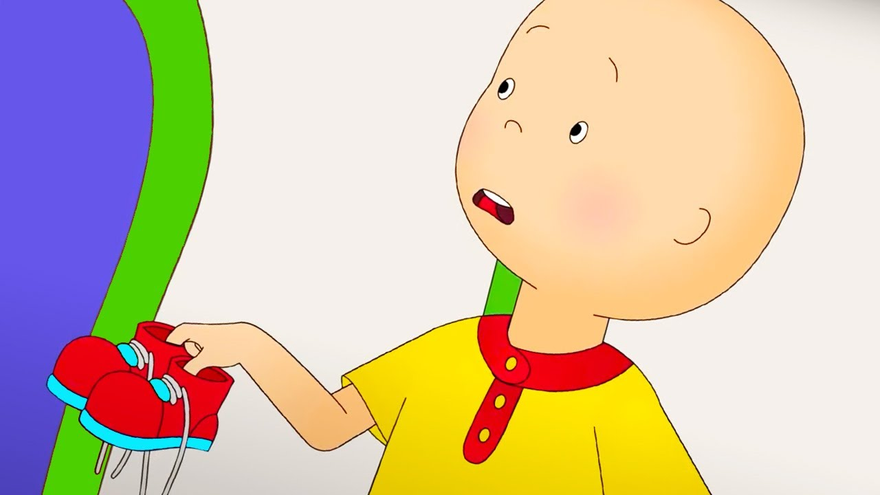 Caillou and the New Sneakers | Caillou Cartoon