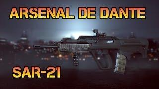 Arsenal de Dante - Battlefield 4 Sar-21 Gameplay Fr