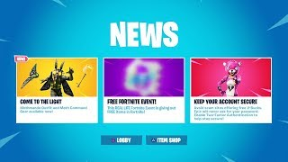 le 'NEW' GRATUIT Fortnite EVENT...