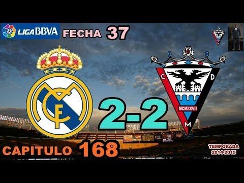 PES 2013 | CAP 168 | LIGA BBVA/FECHA 37 | REAL MADRID 2-2 CD MIRANDES
