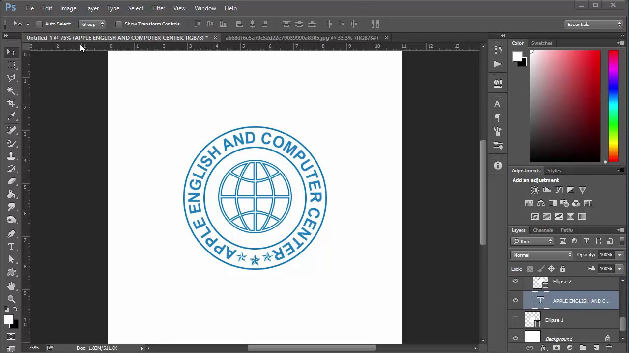 How to create stamp in photoshop