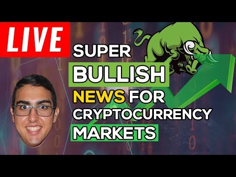 Super Bullish News For Cryptocurrency Markets