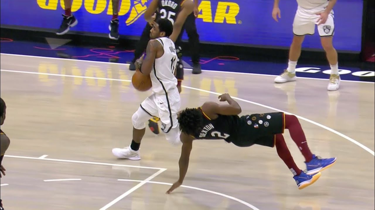 Collin Sexton and Kyrie Irving Both Laugh After Last Minute Foul Call Leads To Overtime – Bleacher Report