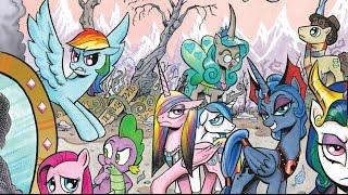 'Отражение' My Little Pony  комикс полностью