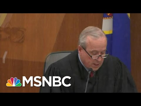 Judge Denies Motion To Move Or Delay Chauvin Trial | MTP Daily | MSNBC