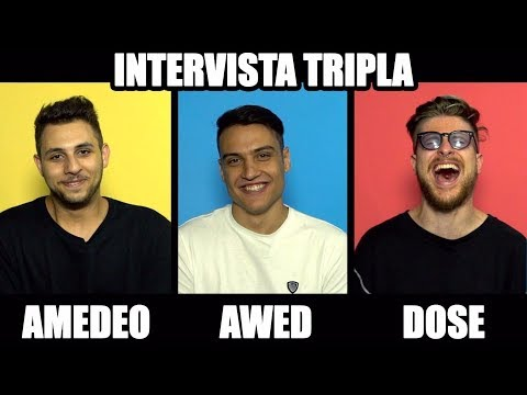 INTERVISTA TRIPLA con Awed , Amedeo Preziosi & Riccardo Dose