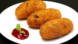 உருளைக்கிழங்கில் இதுபோல புதுவிதமான ஸ்னாக் செஞ்சி பாருங்க | Snacks Recipes in Tamil