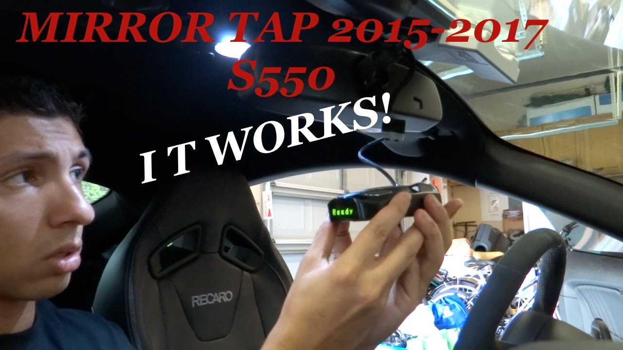 Mirrortap Install 2015 2019 Mustang S550 Power Radar From Rearview Mirror Telephone Rj11 Connector Wiring Diagram