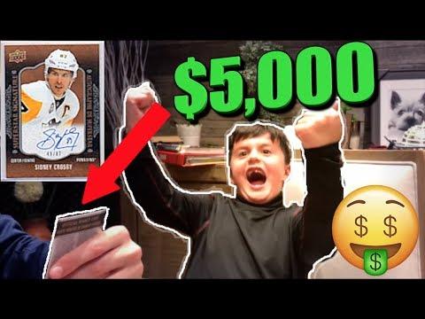 WINNING $5,000 HOCKEY CARD 😱 | Christian Lalama