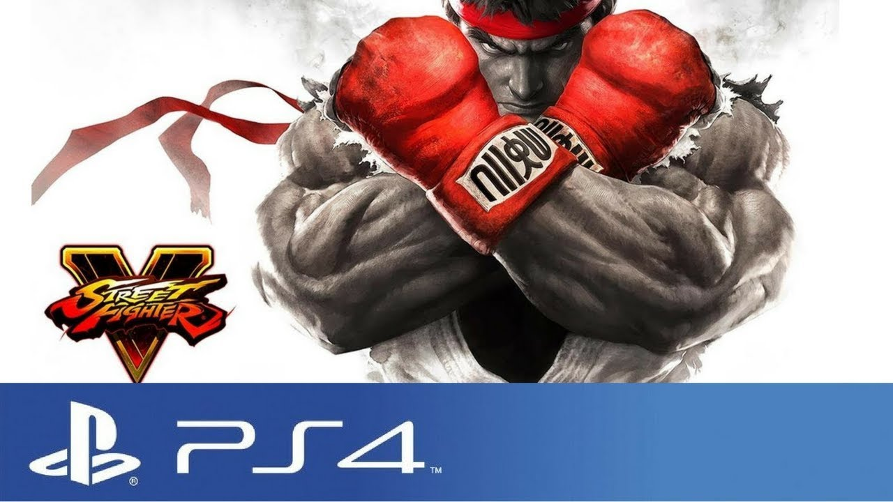 How Too Download Street Fighter V Free For PS4 - ISO File -