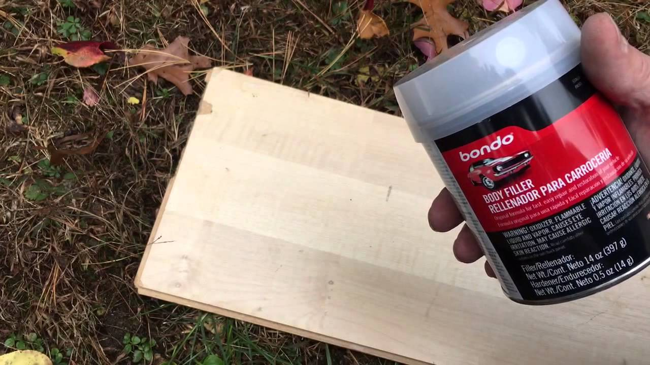 how to fix a woodpecker hole in your house - youtube