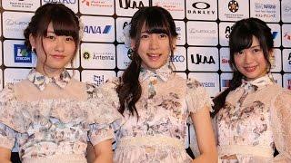 NGT48北原里英、AKB48茂木忍、中西智代梨がレッドカーペットに!「ショートショートフィルムフェスティバル&アジア2015」授賞式1 #Rie Kitahara #Japanese Idol