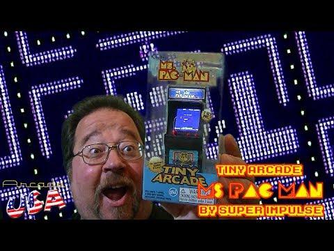 Tiny Arcade MS Pac Man!