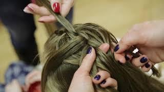 Обучение плетению! урок №4 Французкая вывернутая коса