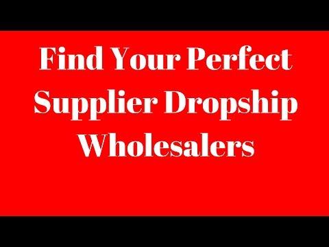 Dropship Wholesalers for eCommerce Business