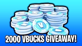 Énorme FORTNITE V Bucks Giveaway
