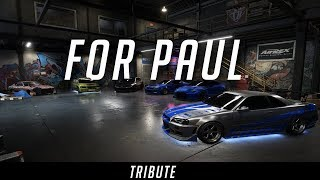Paul Walker Tribute - Need For Speed Payback (RIP)