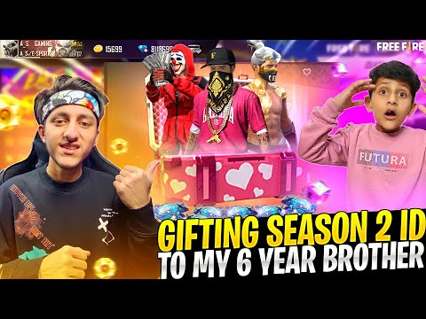 Gifting Hip Hop Bundle To My 6 Year Brother 😍 Richest Free Fire Account - Garena Free Fire