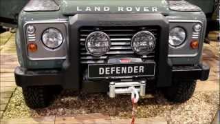 Jagd & Hund 2012 Land Rover Defender 110 Geländeparkour