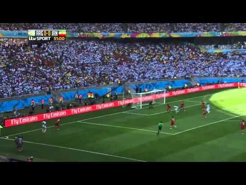 Argentina vs Iran 1 0 Highlights Messi Goal Video