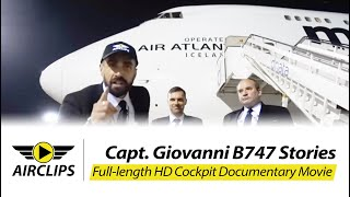 Boeing 747-400BCF See the full process of a heavy B747 cargo flight with fantastic pilot interviews