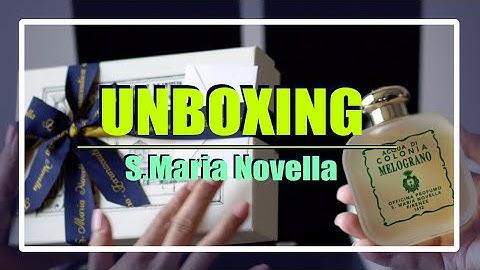 Unboxing) 산타마리아노벨라 향수 언박싱 🛍 선물 같이 열어봐요!