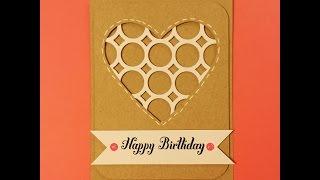 Card Inspiration - Happy Birthday Heart